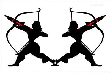 Arjuna, Archer, missiles