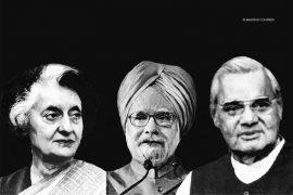 Manmohan Singh, Indira Gandhi, Vajpayee, Slogans