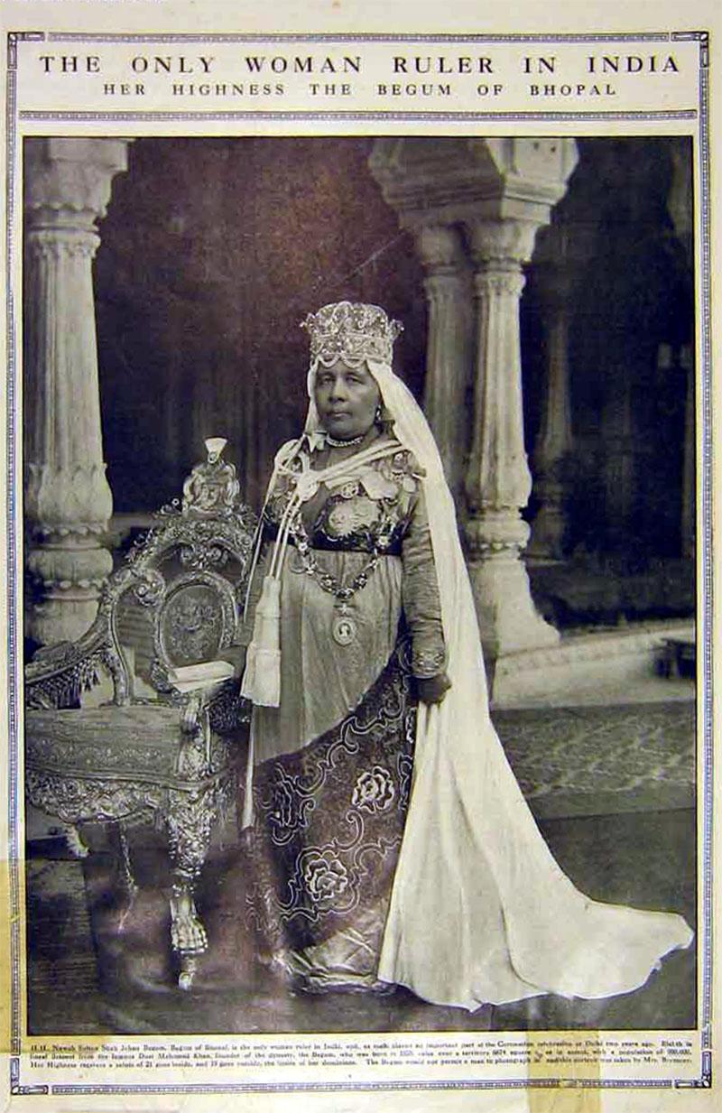 Sultan, Kaikhusrau, Jahan, Begum