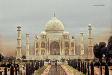 Taj Mahal, Painting