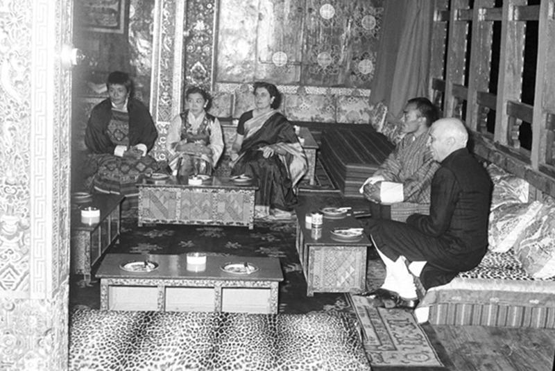 nehru_bhutan_madrascourier